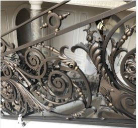 ornamental railing ornamental iron works custom wrought iron railing