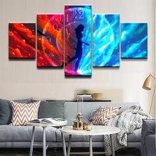 5 Panel Sci Fi  Landscape Canvas Painting Home Decor For Living Room Printed Poster Modern Wall Art Decoration Picture Artwork