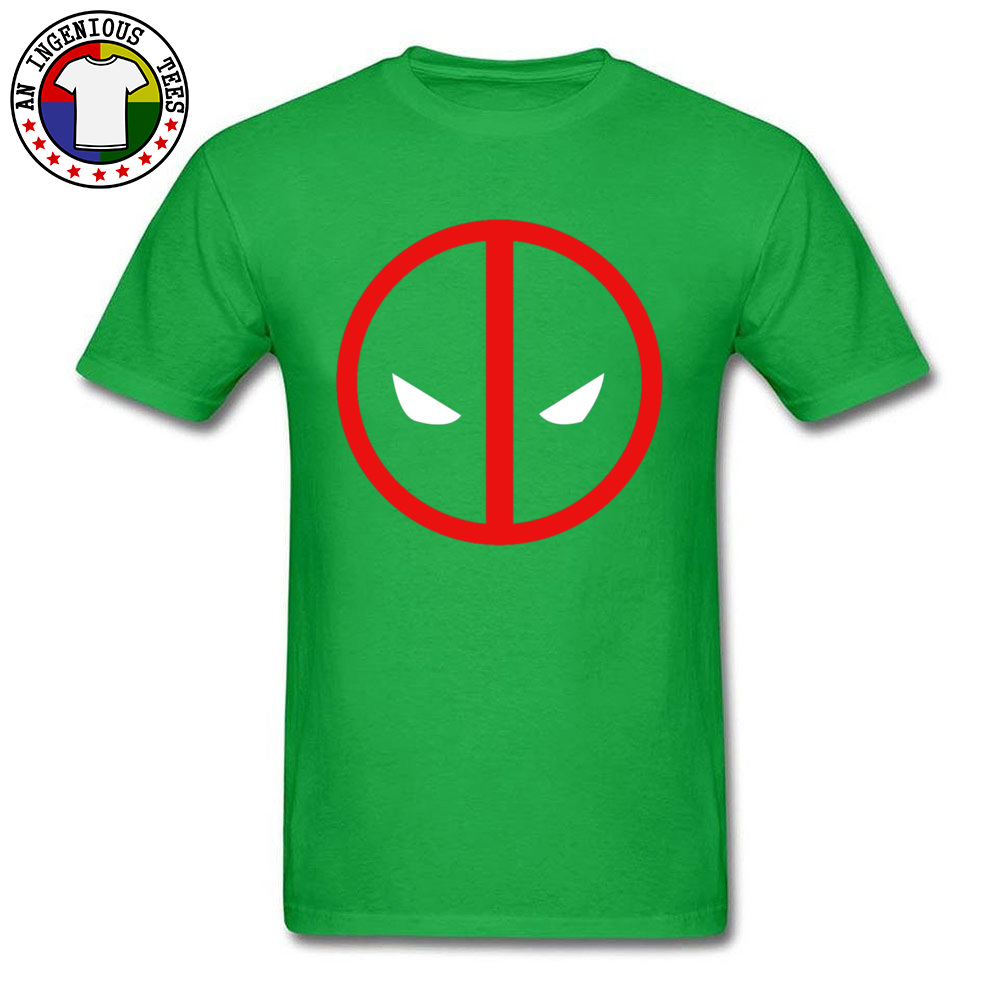 Dead Pool 1226 April FOOL DAY Pure Cotton O Neck Tops Shirts Short Sleeve Geek T-shirts 2018 New Fashion Leisure Top T-shirts Dead Pool 1226 green