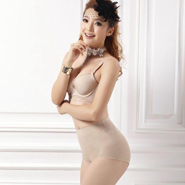 Women Shapewear Shaping Brief Abodmen Control Pants Compression Brief Plus Size H34