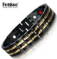 2016 Hot Customized Logo Bio Magnetic Bracelet Wholesale Cheap Magnetic Sports Bracelet For Men 10114