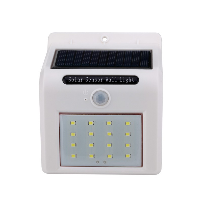 8/16 LED Solar Powered Wall Light Motion Sensor Outdoor Garden Security Lamp Outdoor Lighting ...