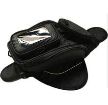 Motorcycle tank bag motorbike oil fuel tank bag Magnetic Motorcycle Oil Fuel Tank Bike saddle bag motorcycle bag without logo