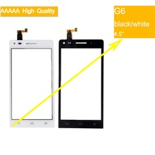 For Huawei Ascend G6 G6-U00 G6-U10 Touch Screen Touch Panel Sensor Digitizer Front Outer Glass Lens Touchscreen No LCD for huawei ascend g6 3g version lcd display with touch glass digitizer assembly black white color