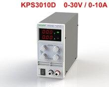 Бесплатная доставка KPS3010D регулируемый высокой точности double светодиодный дисплей переключатель DC Питание функция защиты 30V10A 110 В-230 В