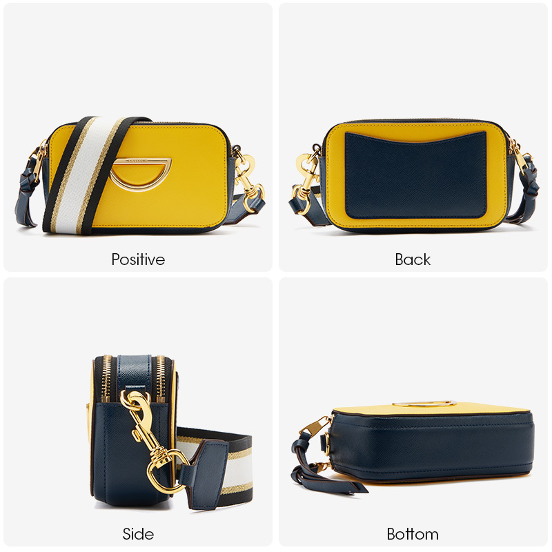 bags for women 2019 new small square bag leather shoulder strap shoulder bag for women bolsa feminina in Top Handle Bags from Luggage Bags