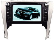 For Toyota Camry 2012 2013 2014 car dvd player MTKAC8227 Quad-Core android 5.1 gps wifi map camera 1024*600lcd