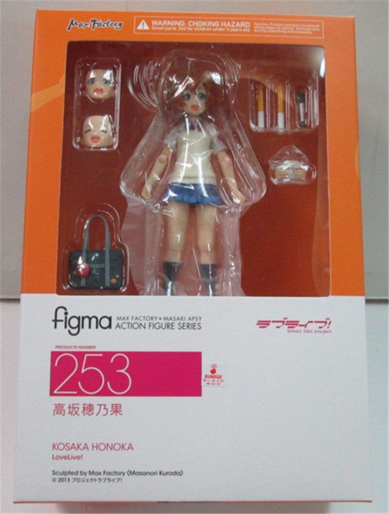 Figma 253 Honoka Kosaka from Love Live Anime Action Figure Max Factory Japan