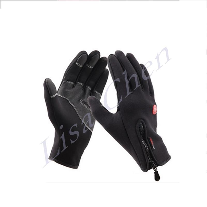 Ski riding font b gloves b font fleece outdoor climbing sport climbing waterproof warm winter full