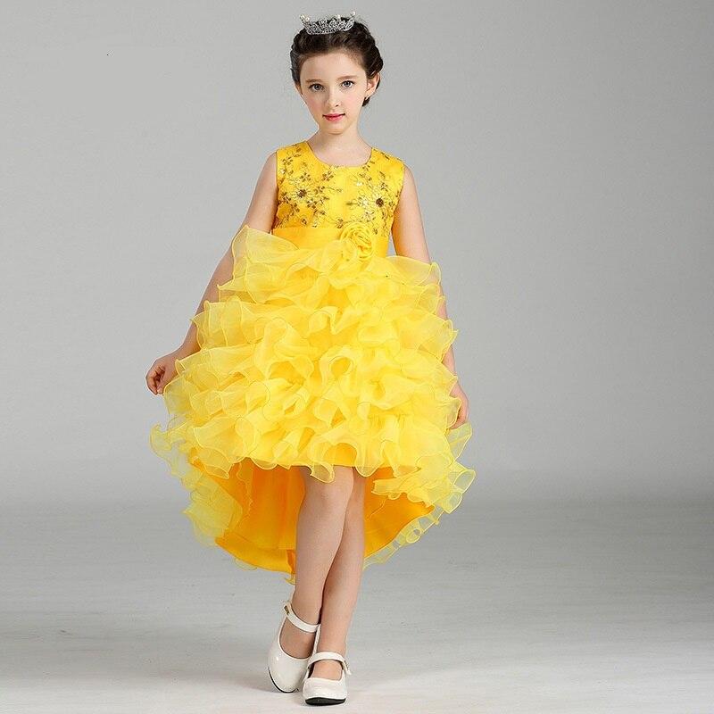 LM8323 de primăvară și de toamnă Kids Girls Princess Dress Tutu - Haine copii