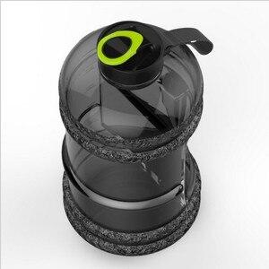 Image 3 - חדש 2.2L ספורט גדול קיבולת מים בקבוק חדר כושר כושר קומקום חיצוני קמפינג אופניים שלי מים בקבוק חלל בקבוק שייקר BPA