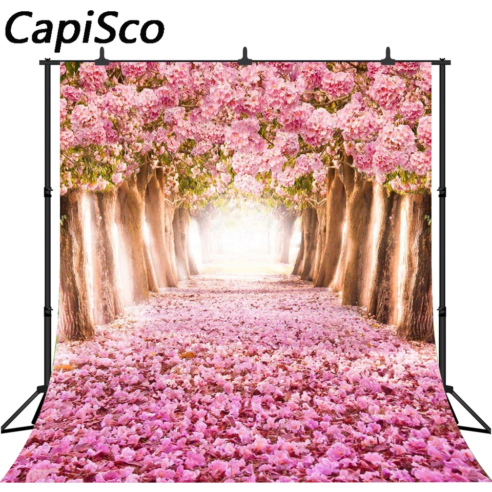 Capisco Floral Tree For Wedding Photography Background Vinyl