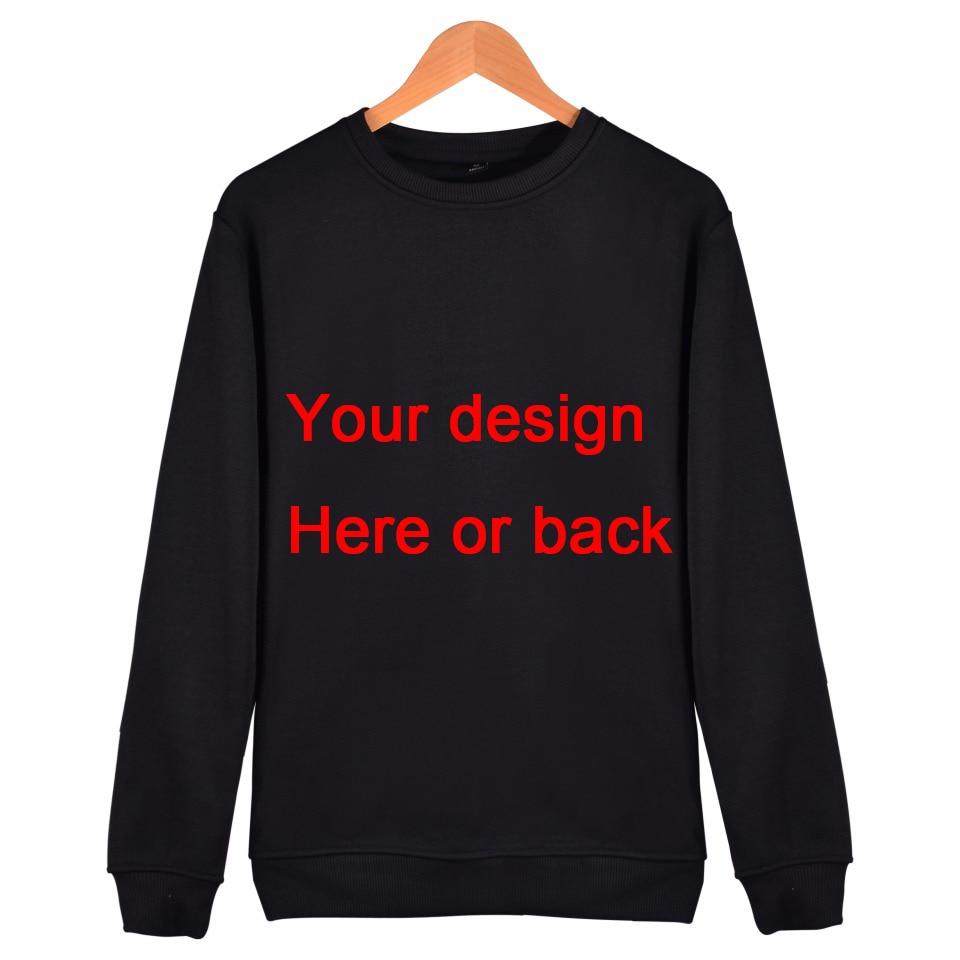Las mujeres de los hombres de diseño del cliente Sudadera con capucha sudadera H