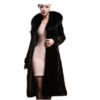 Fourrure Artificielle 2018 Faux Plus Taille Veste Outwear Clobee Chaud D'hiver Femmes Manteau Femme Z80 La De TclFJK1