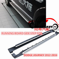 CITYCARAUTO FREE SHIPPING 4*4 CAR ACCESSORIES RUNNING BOARD SIDE STEP FIT FOR DODGE JOURNEY FIAT FREEMONT CAR 4*4 SUV 2012 2016