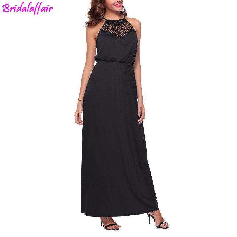 9a6bd549806 Формальные Длинные для женщин элегантные платья знаменитостей пикантные  черные сапоги Холтер кружево платье для сцены и