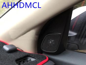 Szyny głośnikowe do montażu głośników samochodowych uchwyty gumowe drzwi kątowe dla CR-V 2012 2013 2014 2015 2016 tanie i dobre opinie Skrzynek głośnikowych Black AHHDMCL ABS+PC+Metal 0 25kg Car audio door angle gum tweeter refitting
