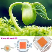 High Power 45mil 10W 20W 30W 50W 100W Full Spectrum LED Grow Light Diode 400~840nm BridgeLux + AC 110~220V LED Driver