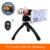 2017 Teléfono Kit de Lentes Lentes de Zoom Óptico Teleobjetivo Telescopio 17x para para samsung galaxy s3 s4 s5 s6 s7 iphone casos trípode