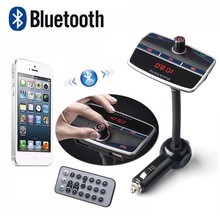 Auto MP3 Audio Bluetooth Fm Transmitter + Dual USB Ports mit Fernbedienung Drahtlose LCD Car Kit Freisprecheinrichtung Mic w/TF slot