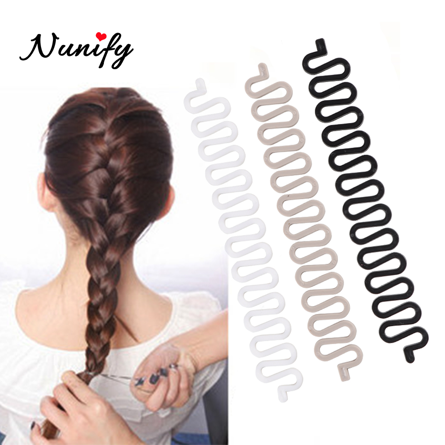 French Twist Hair Braiding Tool Holder Roller Diy Bun Maker Hairstyle Styling Accessory For Salon Centipede Braider With Hook