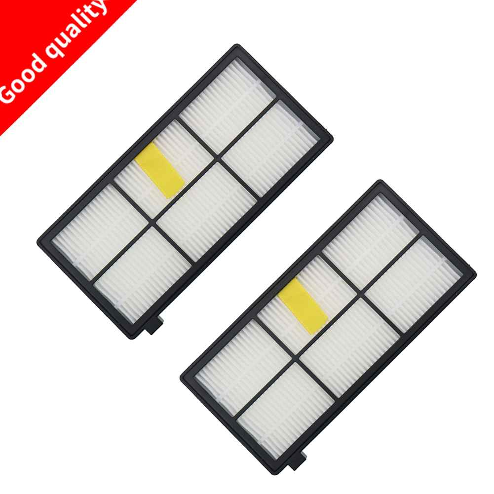 2pcs Heap filter kit for iRobot Roomba 800 900 Series 870 880 980 Vacuum Cleaner Accessories parts replacement цена