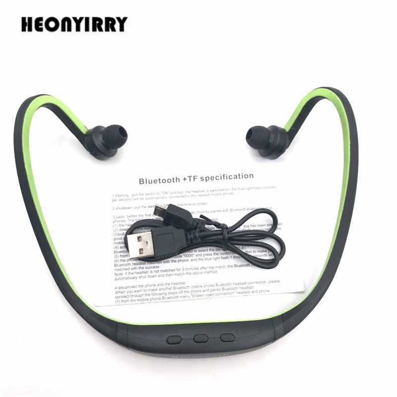 S9 Wireless Bluetooth Headphone With SD Card Slot Micro Neckband Auriculares Headset Stereo Music Headphones for Iphone Xiaomi ks 508 mp3 player stereo headset headphones w tf card slot fm black