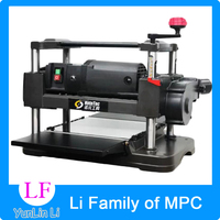 12 Inch Exquisite Desktop Flat Knife Cutting Machine 220V 1500W Industrial Home Automatic Feeding Woodworking Planer