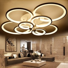 BLUE TIME Acrylic Modern led ceiling lights for living room bedroom Plafon led home Lighting ceiling lamp home lighting fixtures(China)