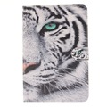 Sex girl Tiger Owl Pu leather stand holder Cover Case For Samsung Galaxy Tab S2 8.0 SM-T710 T715 Table Wallet with Card Holder