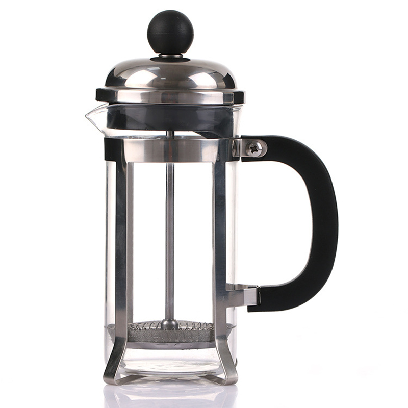Us 11 77 26 Off 350ml Gl Blunt French Press Coffee Maker Kettle Pot With Stainless Steel Plunger Hollow Cafetiere Filter In