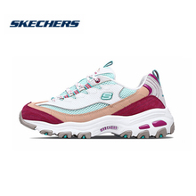 Skechers  D'LITES Casual shoes Women Genuine Leather Dad Platform Women Shoes New Arrival Comfortable Breathable Flats 13146-GYP 2017 fujin handmade women shoes genuine leather new arrival women flats shoes heels round toes platform lady casual shoes