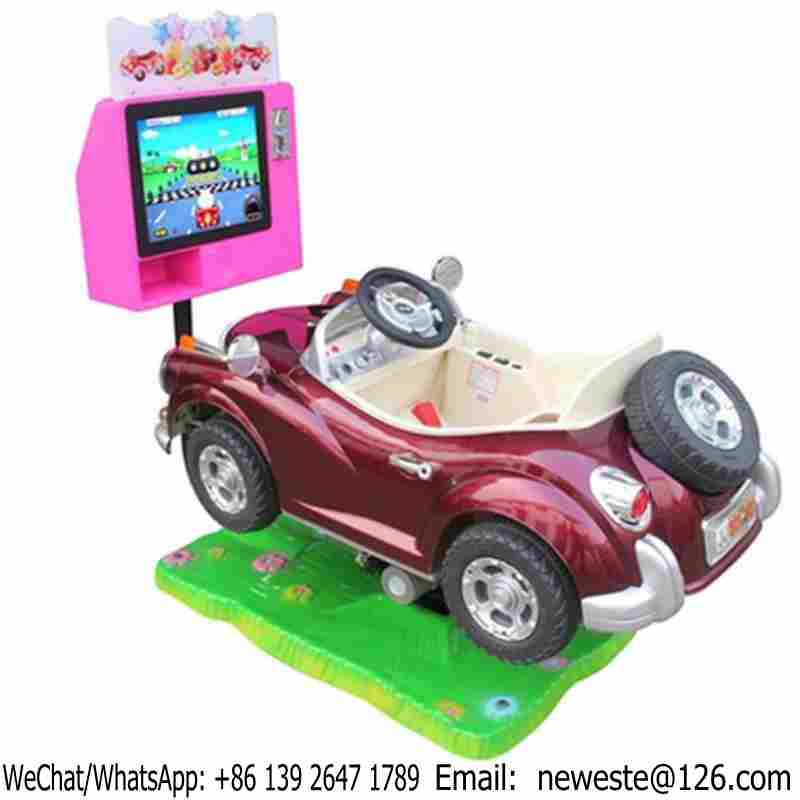 Amusement Rides Game Machine Electric Swing Car Kiddie Ride On Toys In Shopping Mall
