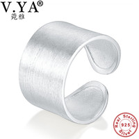 Wholesale 100 Real Pure 925 Sterling Silver Ring Classic Wedding Ring Fine Jewelry Free Shipping Men