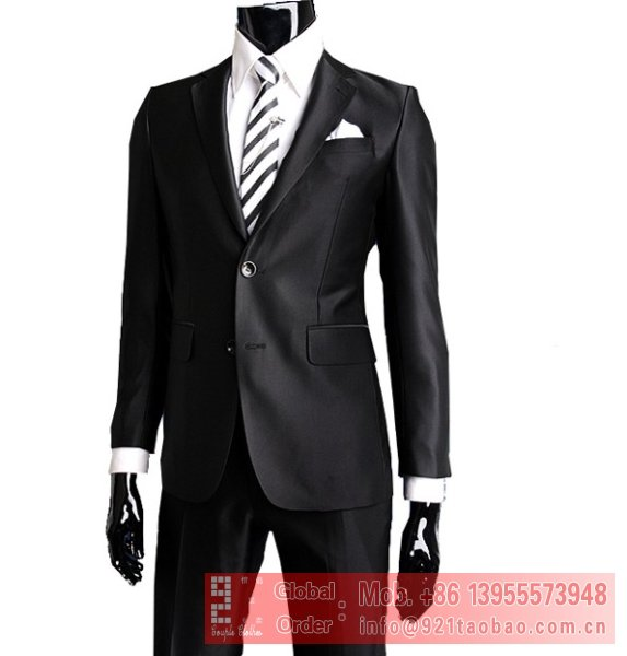 Aliexpress.com : Buy 2012 hot selling new fashion slim men's suits ...