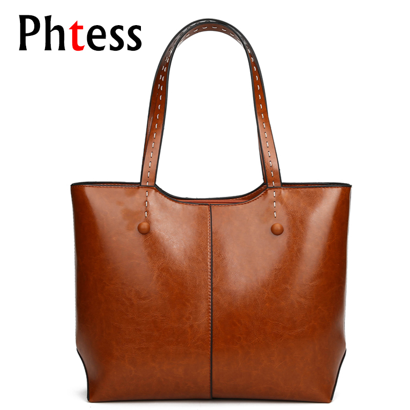 2018 Tote Bags Large Capacity Women Leather Handbags Luxury Brand Bags Ladies Hand Pu Shoulder Bag Tote Sac a Main Femme Vintage new orignal offer for 15 g150x1 l02 g150x1 l01 lcd screen