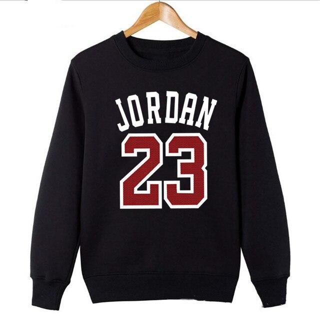 0d8d145ec893a5 Streetwear Hoodie 2018 Fashion Sweatshirt Men Women Streetwear Long Sleeve  Red Jordan 23 Print Casual
