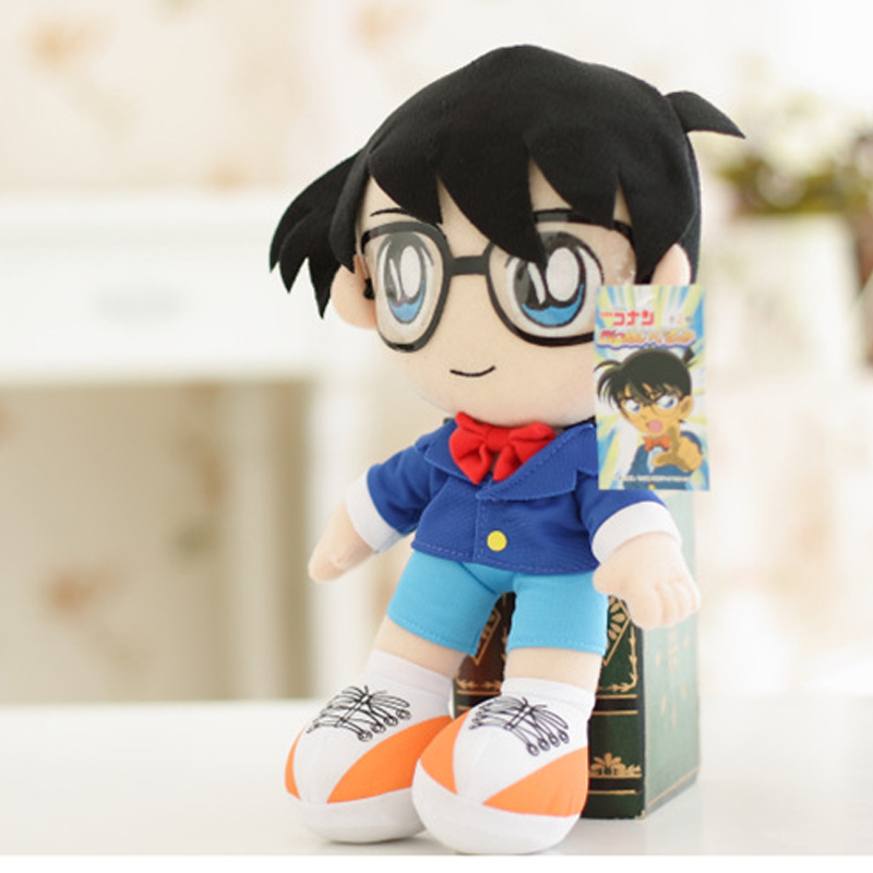 32cm Japanese Detective Conan Plush Case Closed Edogawa