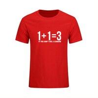 Zomer T-shirt Mens Casual Korte Mouw Gedrukt Wiskundige Formule T-shirt Mannelijke Fashion Tops Tees Sporting Pak Hiphop Stijl