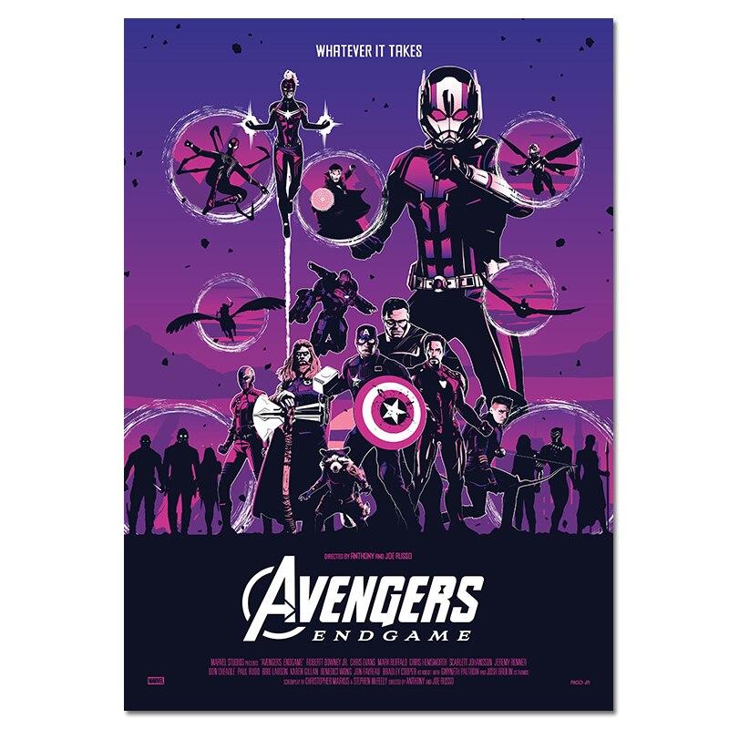 Avengers Endgame Movie 2019 Art Silk Poster 12x18 24x36