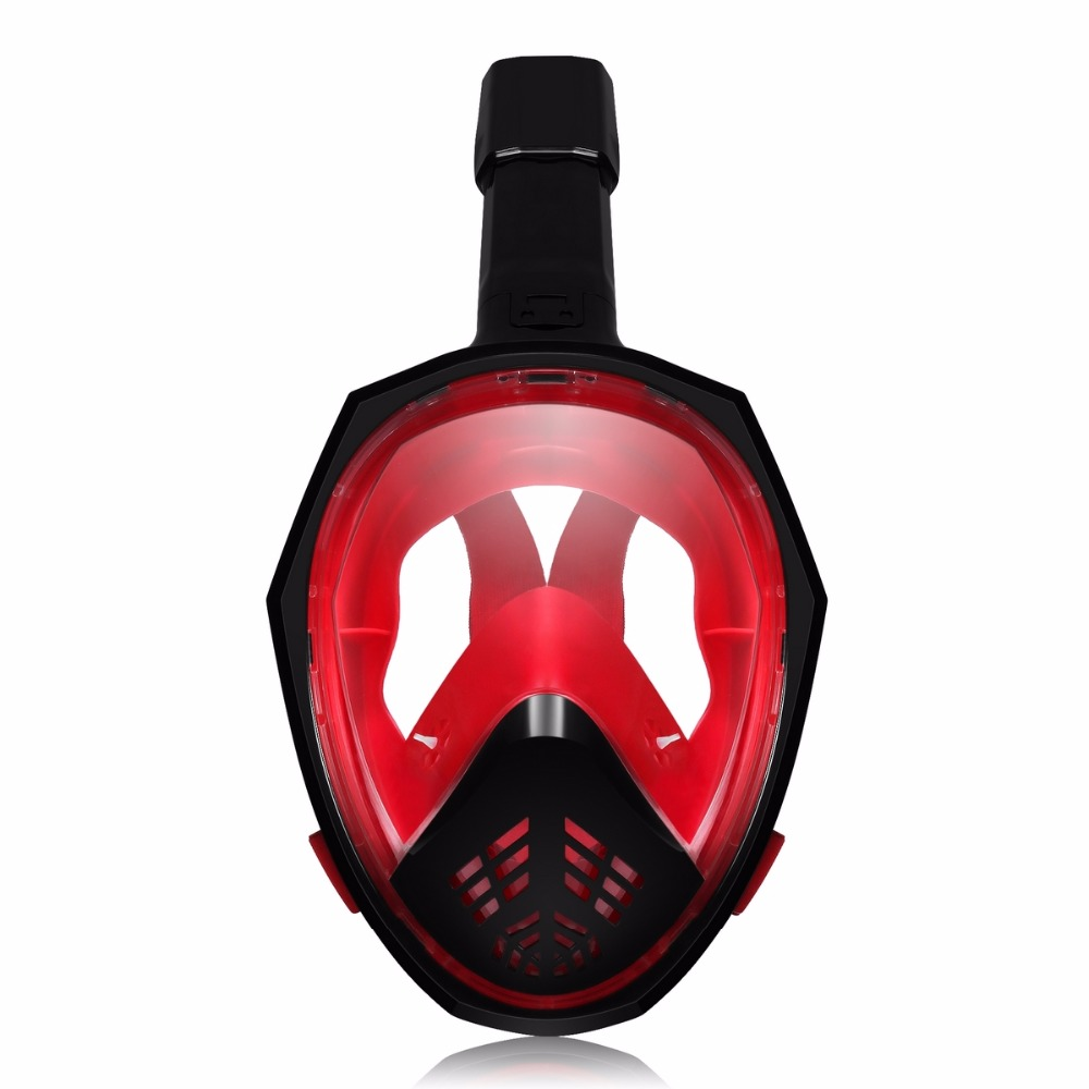 YaHey 2018 Full Face Anti Fog Diving Mask The Foldable Breathing Tube Under water Swimming Snorkel Mask Scuba Set for Camera high quality airsoft mask pc the lens used for cs welding polishing dust the face protect mask splash proof material safety mask