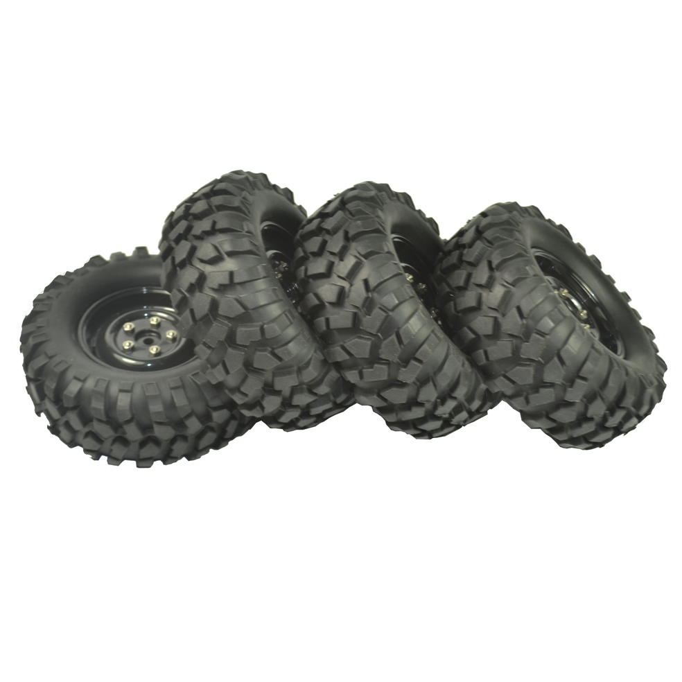 Image 5 - 4PCS 96mm Tyre RC 1/10 Off Road Car Beach Rock Crawler Tires Wheels Rim-in Parts & Accessories from Toys & Hobbies