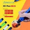 3D עט הדפסת SL-300A אינטליגנטי 100 m 20 יחידות ABS נמוך טמפרטורת 3D עטים חוטי DIY ציור צעצועי ציור מתנה