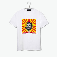 I am happier than you che guevara smile funny design t shirt