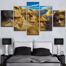 Rock head facies Landscape Canvas Wall Art Home Decor For Living Room Paintings on for