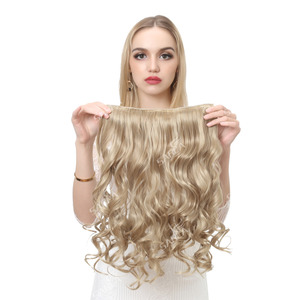 Image 3 - SARLA 10 יח\חבילה ברזילאי 5 קליפים בתוספות שיער עמוק גל ארוך סינטטי פאה טמפרטורה גבוהה 888 משלוח חינם