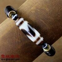 2018 New Arrival Tibetan Style Qualitied Dzi Bead Ji Powerful Bracelet Coconut Shells for Men & Women Fengshui Bracelet
