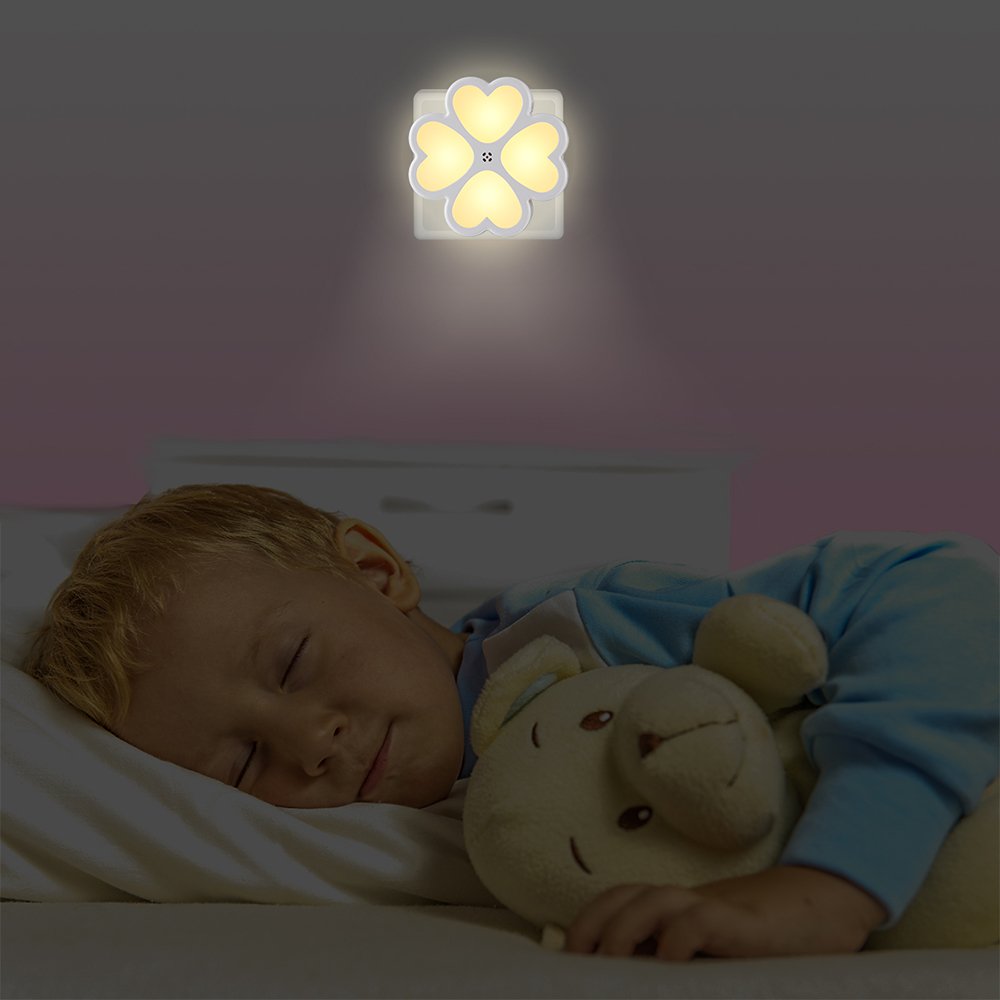 Plug-in LED Night Light with Dusk-to-Dawn Sensor Warm White LED Nightlight for Bedroom Bathroom Hallway Stairways Baby NursingPlug-in LED Night Light with Dusk-to-Dawn Sensor Warm White LED Nightlight for Bedroom Bathroom Hallway Stairways Baby Nursing