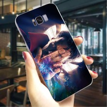 Doctor Strange Hard Cover for Samsung Galaxy Note 9 Print Phone Case for Samsung Galaxy S8 S9 Plus S10 Note 8 Back shell поло print bar doctor strange