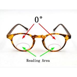 Image 2 - Intelligent Photochromic Bifocal Reading Glasses magnifier Unisex Reader Sunglasses Look Near Far Rice Nail Presbyopic Gafas D5